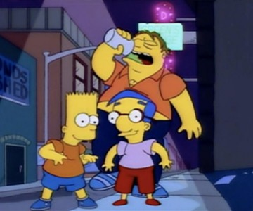 barney-bart-milhouse