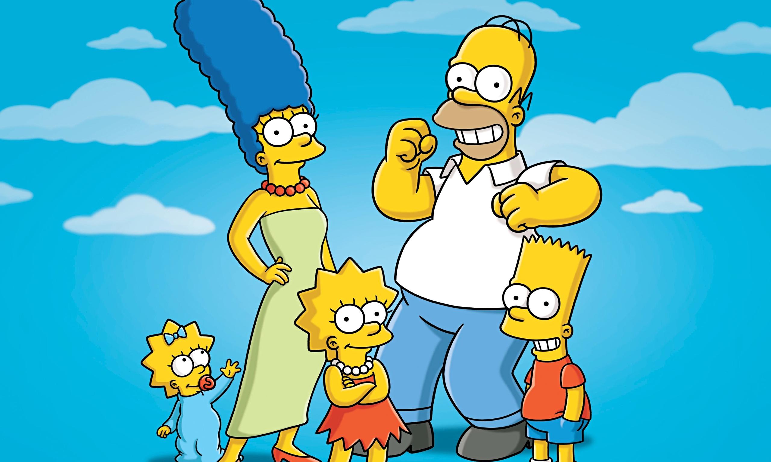 La conservadora familia Simpson