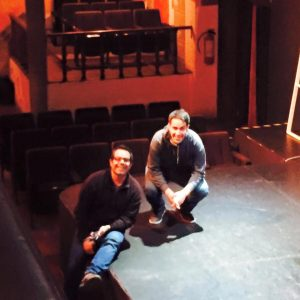 Fausto y Leonardo en el Foro Rodolfo Usigli